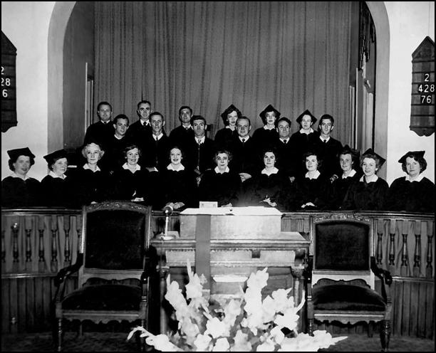 The Asbury Church Chancel Choir of 24 voices
